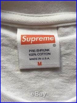 Nwot Supreme Paris Opening Bonjour Madame Box Logo T Shirt M