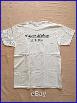 Nwt Supreme Paris Opening Bonjour Madame Box Logo T Shirt XL