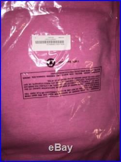 New 2015 F/W Supreme Box Logo Bogo Crewneck Sweatshirt Pink men size X-large