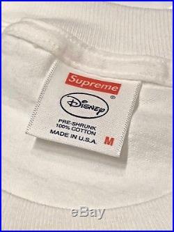 New Authentic Supreme x Disney Snow White GIMME Box Logo Tee Medium with Receipt