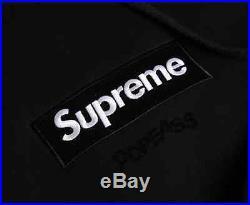 New Black Bogo Pullover Supreme Box Logo Hoodie Sweater Large Hoody Size L