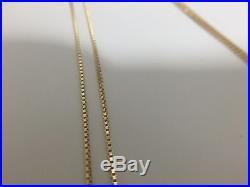 New SUPREME Uzi Pendant 14K Gold box logo TNF F/W 15 CDG PCL 100 Authentic