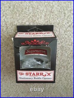 New Supreme Stationary bottle opener STARR X box logo