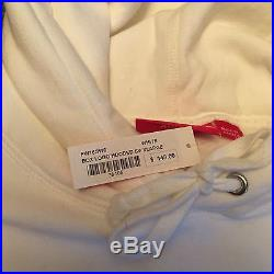 New with tags Supreme Box Logo Hoodie White Size XL FW16 100% Authentic