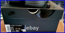Nike Air Force 1 Low x Supreme Box Logo Black Shoes 11M CU9225-001 Men's NEW