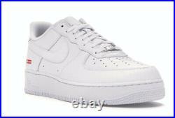 Nike Air Force 1 Low x Supreme Box Logo White 2020 US Size 10.5