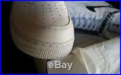 Nike Air Force 1 x Supreme White size 13 Jordan Box Logo DB 2 3 4 5 6 7