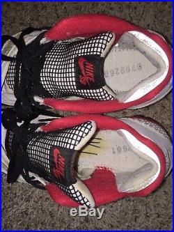 Nike Air Trainer 2 Sb Supreme White 317646 111 Size 9.5 Worn W Box Logo