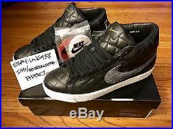 Nike SB Supreme Blazer Black 9.5 ultra boost moss SNS kermit box logo gaga