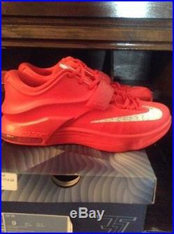 Nike kd 7 global game red october yeezy season supreme bape box logo Air Jordan