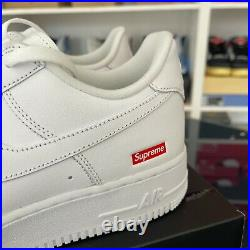 Nike x Supreme Air Force 1'Box Logo' UK 10 IN HAND READY 2 SHIP