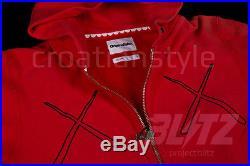 OriginalFake x INVINCIBLE KAWS X X HOODIE HOODY M RED supreme box logo chomper