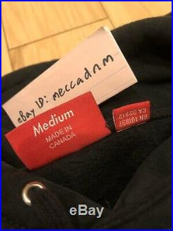 PREOWNED SUPREME BLACK BOX LOGO HOODIE BLACK MEDIUM SWEATSHIRT FW13 grey bandana