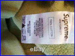 Pre-owned Supreme Sage Box Logo Hoodie Sage Olive Green/Matcha Size Small