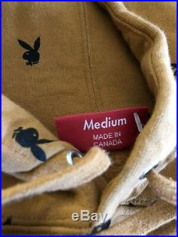 RARE 100% Authentic Supreme X Playboy Hoodie M / Box Logo CDG PCL Paisley Bape