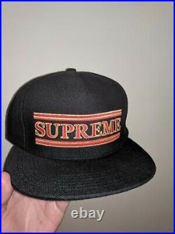 RARE, Authentic Supreme Snapback hat with Box Logo embroidered + Bogo snap