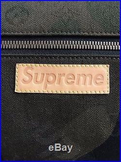 RARE LOUIS VUITTON x SUPREME Camo Apollo Monogram Backpack M44200 Bag box logo