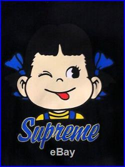 RARE Recalled Black Supreme Candy Girl Tee SS15 Box Logo Size L