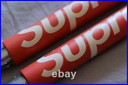 RARE SUPREME Nunchucks Red F/W 2010 Accessories Toy Grail Box Logo 100% Gen