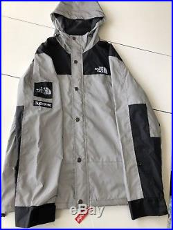 (RARE) Supreme x The North Face 3M Reflective Jacket (Size Large) Box Logo