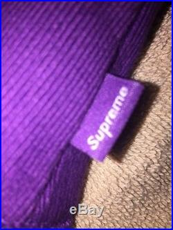 Rare Purple Supreme Box Logo Hoodie READ DESCRIPTION