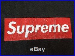 SUPER RARE SUPREME BOX LOGO X SOPRANOS 2005 M MEDIUM SHIRT