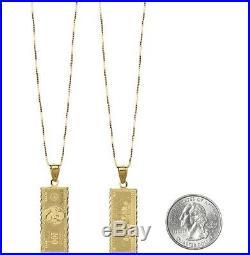 SUPREME 100 Dollar Bill Gold Pendant 14K box logo camp cap tnf F/W 17