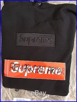 Supreme 2014 Box Logo Pullover M Bnwt 100% Authentic Crewneck Hoodie Pcl Cdg Tee