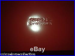 SUPREME 2014 F/W CDG BOX LOGO METAL TOOL BOX UTILITY STEEL CASE PCL RED