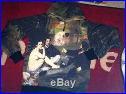 SUPREME 2014 S/S LE BAIN S-XL CDG BOX LOGO MANET PULLOVER PCL HOODIE HOODY COMME