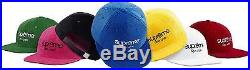 SUPREME 2015 S/S CLASSIC BOX LOGO STRAPBACK HAT 6 PANEL CAMP CAP