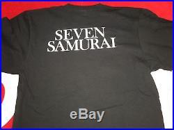 Supreme 2016 F/w Undercover Cdg Box Logo Seven Samurai Tee Shirt S-xl Pcl Black