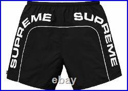 SUPREME Arc Logo Water Short Black M box logo camp cap tnf S/S 18