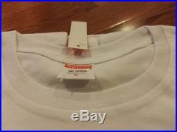 Supreme Black Box Logo Tee M Medium T-shirt Bogo Black White