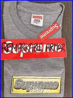 Supreme Bling Box Logo Tee Authentic 2013 M Bnwt Crewneck Pullover Classic S