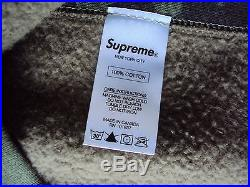 SUPREME BOX LOGO CREWNECK SWEATSHIRT CAMO XL XLARGE 50 HOODIE