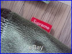 SUPREME BOX LOGO CREWNECK SWEATSHIRT CAMO XL XLARGE HOODIE