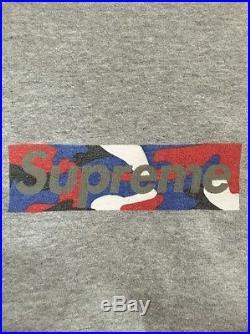 Supreme Box Logo Tee T Shirt Marble 1997 Size Large Sopranos Paris Ali Holo Bape