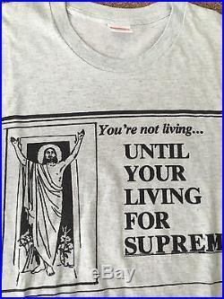 Supreme Box Logo T Shirt Lot 20th Anniversary Taxi Driver M Medium