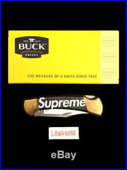 SUPREME BUCK KNIFE BLACK box logo red t-shirt hoodie camp cap cdg comb accessory