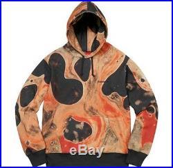 SUPREME Blood and Semen Hooded Sweatshirt Black M box logo camp cap serrano FW17