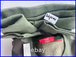 SUPREME Box Logo Crewneck Sweatshirt Camo Woodland Large FW15 NEW AUTHENTIC
