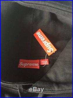 SUPREME Box Logo Hoodie Black/White Size L F/W13