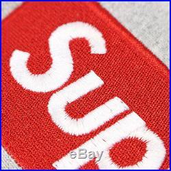 SUPREME Box Logo Pullover BOX logo Hoodie GRAY L