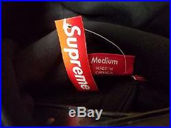 SUPREME Box Logo Pullover Sweater Hoodie Black