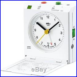 SUPREME Braun Travel Alarm Clock Red Box Logo CDG Jordan