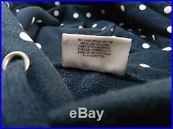 Supreme Comme Des Garcons Hoodie Navy XL Polka Dot Box Logo Bogo Hooded