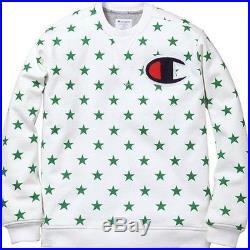 SUPREME Champion Crewneck Sweatshirt White XL box logo safari hoodie camp F/W 12