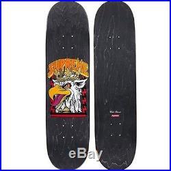 SUPREME Cliver Griffin Black Deck Skateboard camp cap Box Logo safari F/W 12