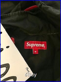 Supreme F-1 Pullover Jacket Large Box Logo